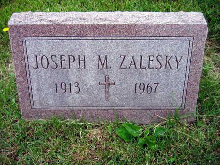 ZALESKY, JOSEPH M. - Linn County, Iowa   JOSEPH M. ZALESKY