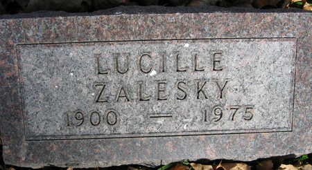 ZALESKY, LUCILLE - Linn County, Iowa   LUCILLE ZALESKY