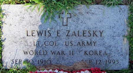 ZALESKY, LEWIS E. - Linn County, Iowa | LEWIS E. ZALESKY