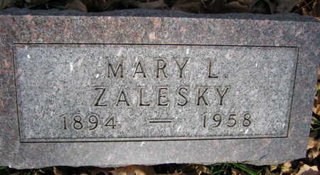 ZALESKY, MARY L. - Linn County, Iowa | MARY L. ZALESKY