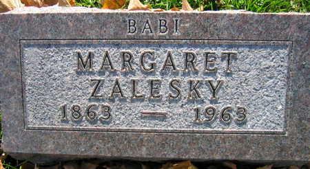 ZALESKY, MARGARET - Linn County, Iowa | MARGARET ZALESKY