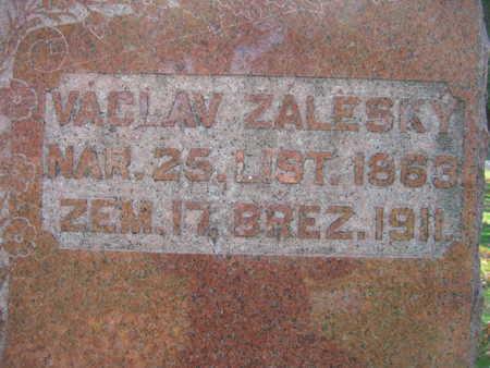 ZALESKY, VACLAV - Linn County, Iowa | VACLAV ZALESKY