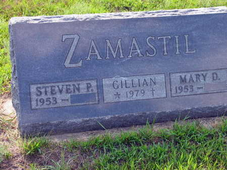 ZAMASTIL, GILLIAN - Linn County, Iowa   GILLIAN ZAMASTIL