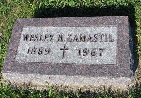 ZAMASTIL, WESLEY - Linn County, Iowa   WESLEY ZAMASTIL