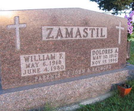 ZAMASTIL, WILLIAM F. - Linn County, Iowa | WILLIAM F. ZAMASTIL