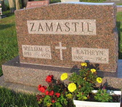ZAMASTIL, WILLIAM G. - Linn County, Iowa   WILLIAM G. ZAMASTIL