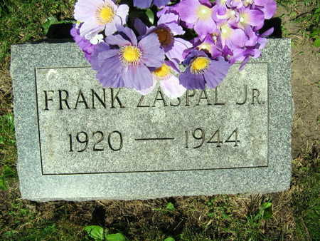 ZASPAL, FRANK JR. - Linn County, Iowa | FRANK JR. ZASPAL