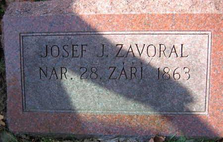 ZAVORAL, JOSEF J. - Linn County, Iowa | JOSEF J. ZAVORAL