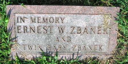 ZBANEK, ERNEST W. - Linn County, Iowa | ERNEST W. ZBANEK