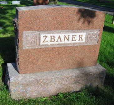 ZBANEK, FAMILY STONE - Linn County, Iowa | FAMILY STONE ZBANEK