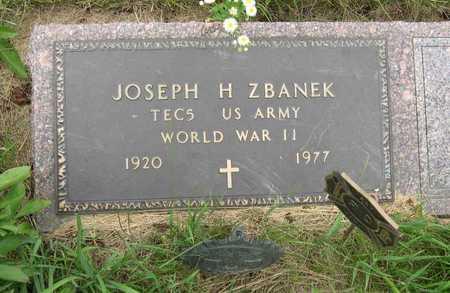 ZBANEK, JOSEPH H. - Linn County, Iowa   JOSEPH H. ZBANEK