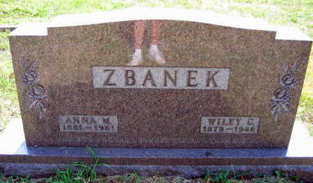 ZBANEK, ANNA M. - Linn County, Iowa   ANNA M. ZBANEK