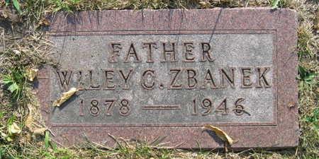 ZBANEK, WILEY C. - Linn County, Iowa | WILEY C. ZBANEK