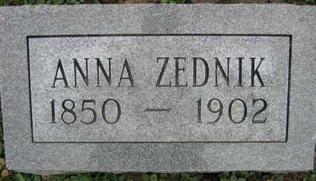 ZEDNIK, ANNA - Linn County, Iowa | ANNA ZEDNIK