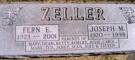 ZELLER, JOSEPH M. - Linn County, Iowa | JOSEPH M. ZELLER