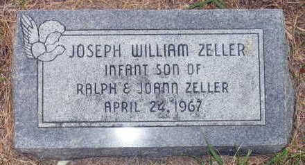 ZELLER, JOSEPH WILLIAM - Linn County, Iowa | JOSEPH WILLIAM ZELLER
