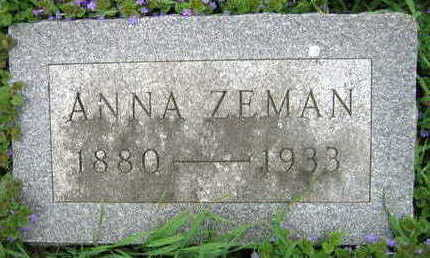 ZEMAN, ANNA - Linn County, Iowa | ANNA ZEMAN