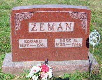 ZEMAN, EDWARD - Linn County, Iowa | EDWARD ZEMAN
