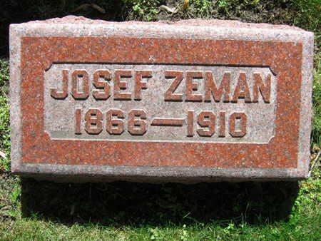ZEMAN, JOSEF - Linn County, Iowa | JOSEF ZEMAN