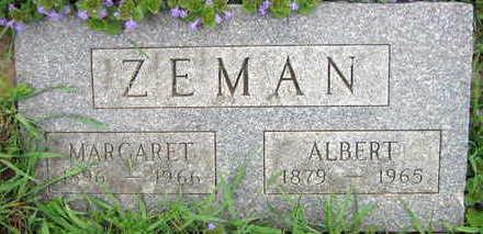 ZEMAN, ALBERT - Linn County, Iowa | ALBERT ZEMAN