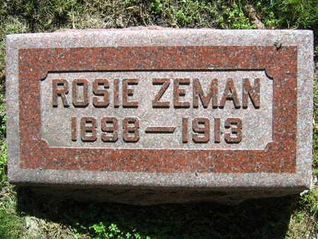 ZEMAN, ROSIE - Linn County, Iowa   ROSIE ZEMAN
