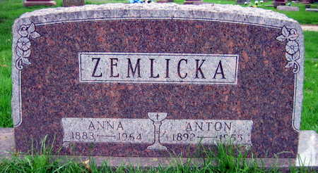 ZEMLICKA, ANTON - Linn County, Iowa | ANTON ZEMLICKA