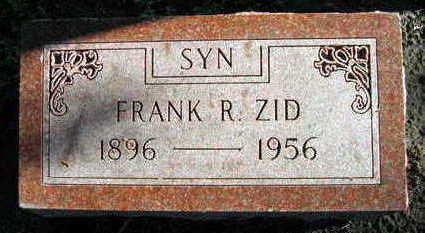 ZID, FRANK R. - Linn County, Iowa | FRANK R. ZID