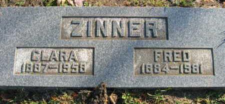 ZINNER, CLARA - Linn County, Iowa | CLARA ZINNER