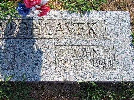 ZLATOHLAVEK, JOHN - Linn County, Iowa   JOHN ZLATOHLAVEK