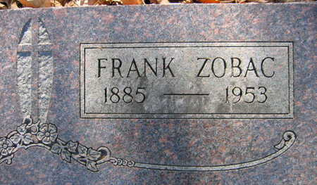ZOBAC, FRANK - Linn County, Iowa | FRANK ZOBAC
