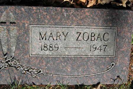 ZOBAC, MARY - Linn County, Iowa   MARY ZOBAC
