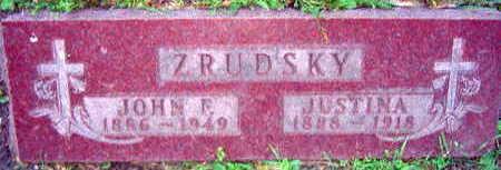ZRUDSKY, JOHN F. - Linn County, Iowa | JOHN F. ZRUDSKY