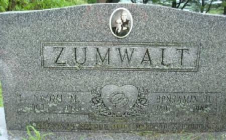 ZUMWALT, NAOMI M. - Linn County, Iowa | NAOMI M. ZUMWALT