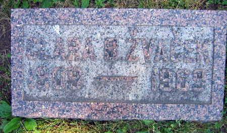 ZVACEK, CLARA B. - Linn County, Iowa | CLARA B. ZVACEK