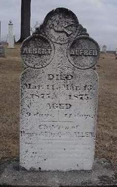 ALLEN, ALFRED - Louisa County, Iowa | ALFRED ALLEN