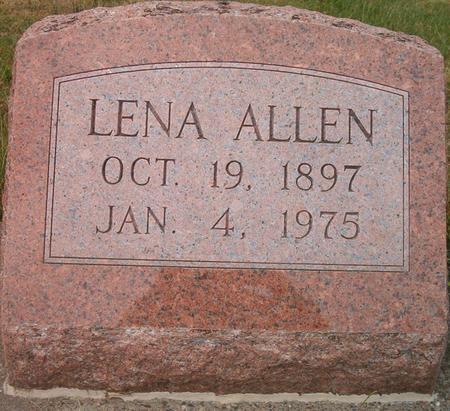 ALLEN, LENA - Louisa County, Iowa | LENA ALLEN