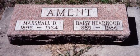 AMENT, DAISY - Louisa County, Iowa | DAISY AMENT