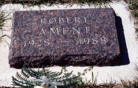 AMENT, ROBERT - Louisa County, Iowa   ROBERT AMENT