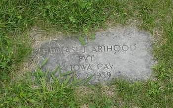 ARIHOOD, THOMAS J. - Louisa County, Iowa | THOMAS J. ARIHOOD