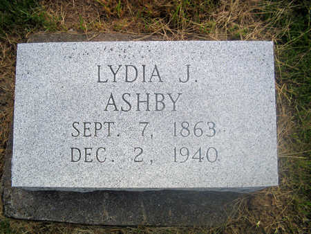 ASHBY, LYDIA J. - Louisa County, Iowa   LYDIA J. ASHBY