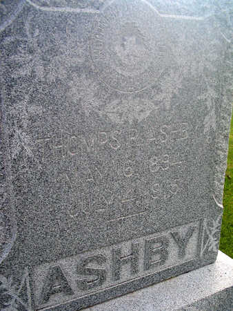 ASHBY, THOMPS R. - Louisa County, Iowa | THOMPS R. ASHBY