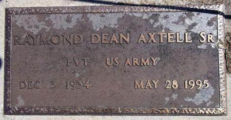 AXTELL, RAYMOND DEAN - Louisa County, Iowa | RAYMOND DEAN AXTELL