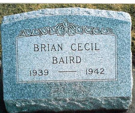 BAIRD, BRIAN CECIL - Louisa County, Iowa | BRIAN CECIL BAIRD