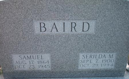 BAIRD, SERILDA M - Louisa County, Iowa | SERILDA M BAIRD