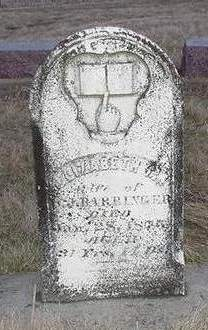 BARRINGER, ELIZABETH M. - Louisa County, Iowa | ELIZABETH M. BARRINGER