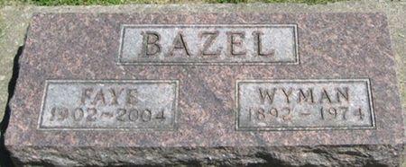 BAZEL, FAYE - Louisa County, Iowa | FAYE BAZEL
