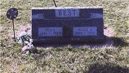 BEST, BENJAMIN - Louisa County, Iowa | BENJAMIN BEST