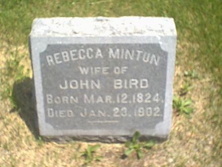 BIRD, REBECCA - Louisa County, Iowa | REBECCA BIRD