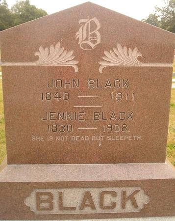 BLACK, JOHN - Louisa County, Iowa | JOHN BLACK