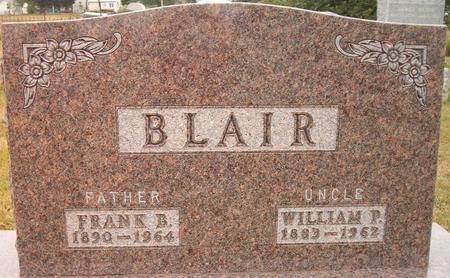 BLAIR, WILLIAM P. - Louisa County, Iowa | WILLIAM P. BLAIR